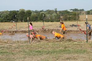 Muddy shot
