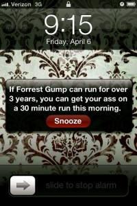 Forrest Gump Run
