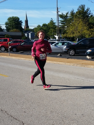 Elizabeth finishing strong!