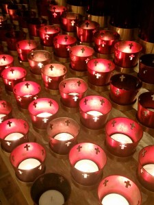Candles in the Basilica